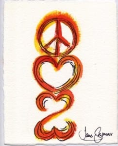 Peace Love and an Open Heart-2