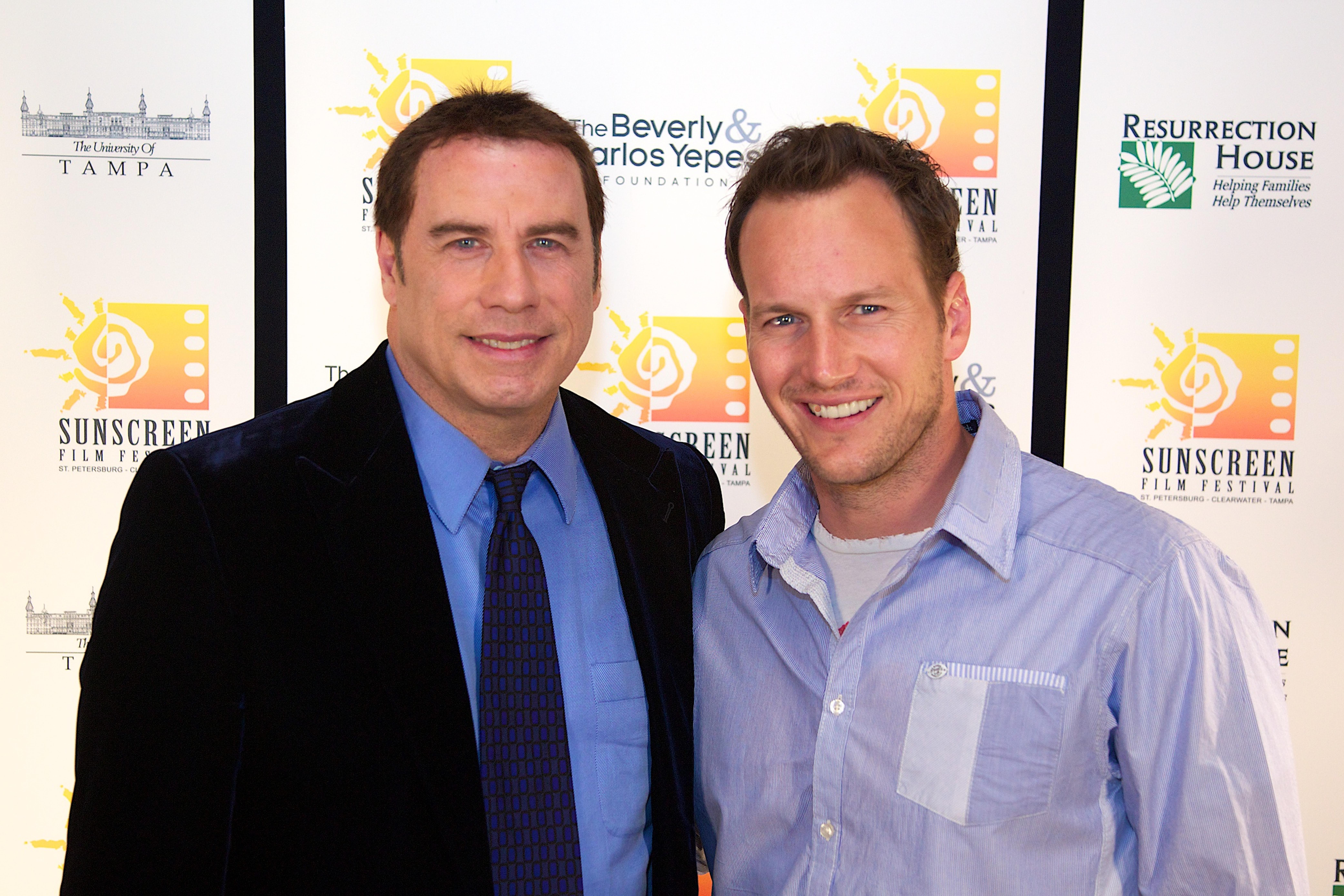 John Travolta & Patrick Wilson300dpi